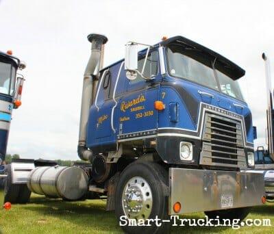 1981 International Transtar II Blue