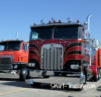 Kenworth Cabover Photo Gallery - Classic Big Rigs