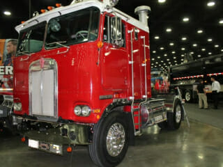 Kenworth Cabover Red
