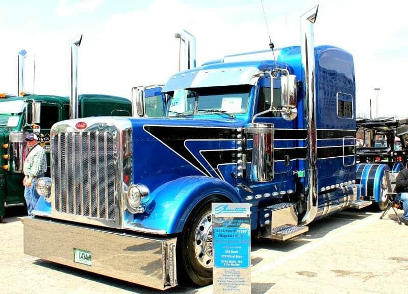 Big Rig Fenders : Big rig show trucks top custom semi rigs