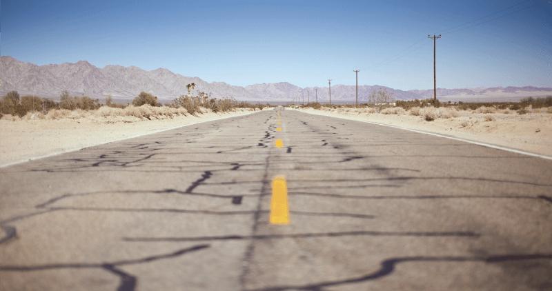 Baron Highway in Desert