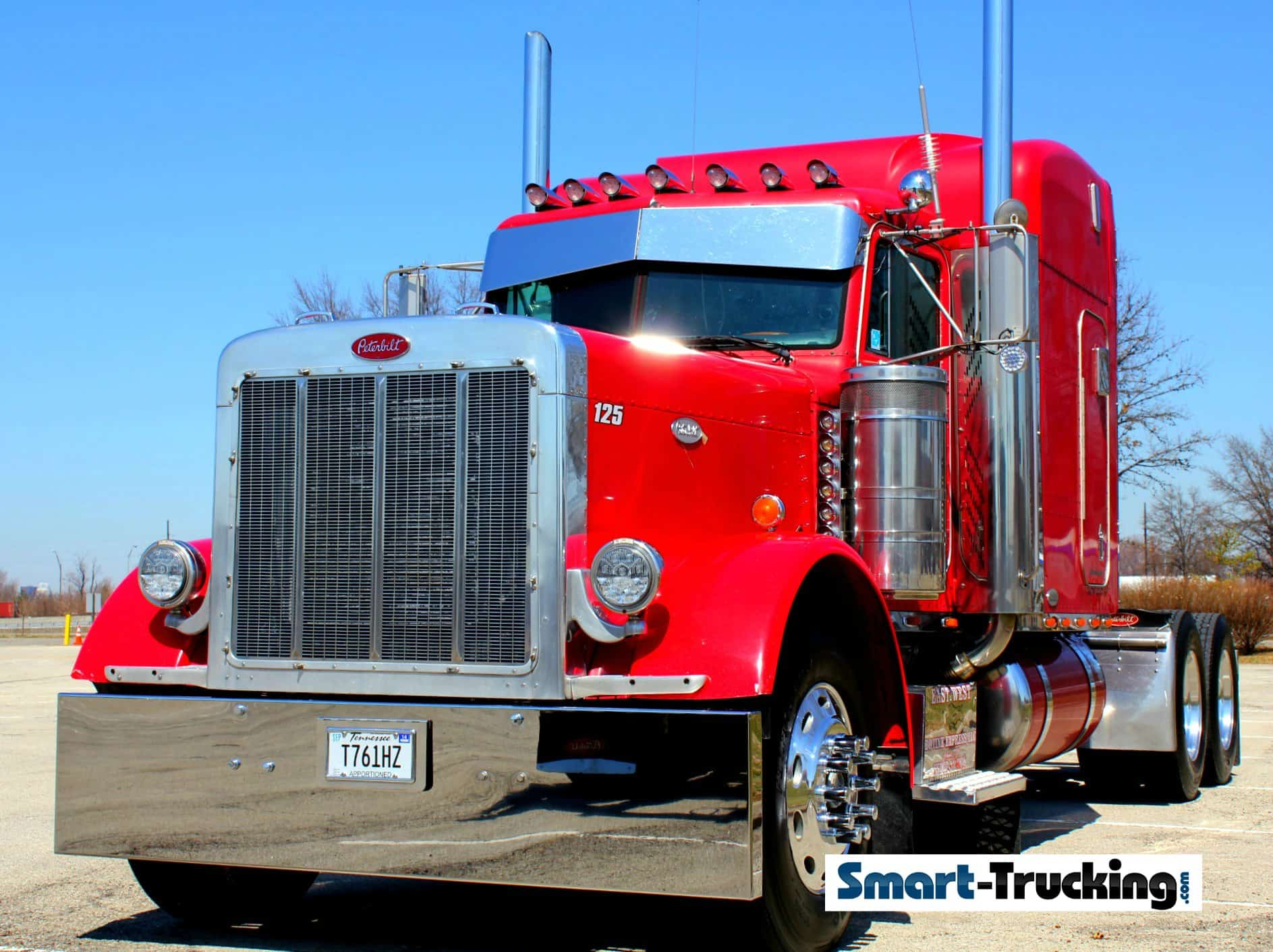 The 379 peterbilt the classic king of the highway - Pictures of old peterbilt trucks ...
