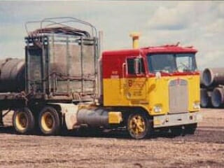 1978 Kenworth Cabover Yellow Red