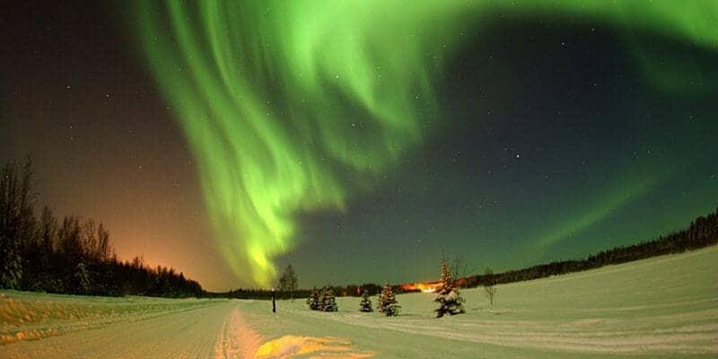 Alaska Road Photo